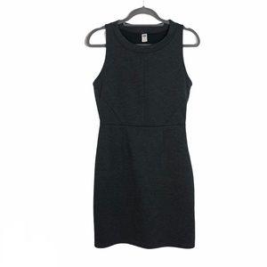 Old Navy Sz M Dress Dark Heather Gray Fitted